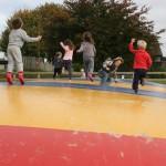 Children's out door play area