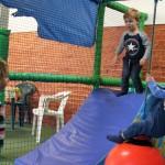 Children in door play area