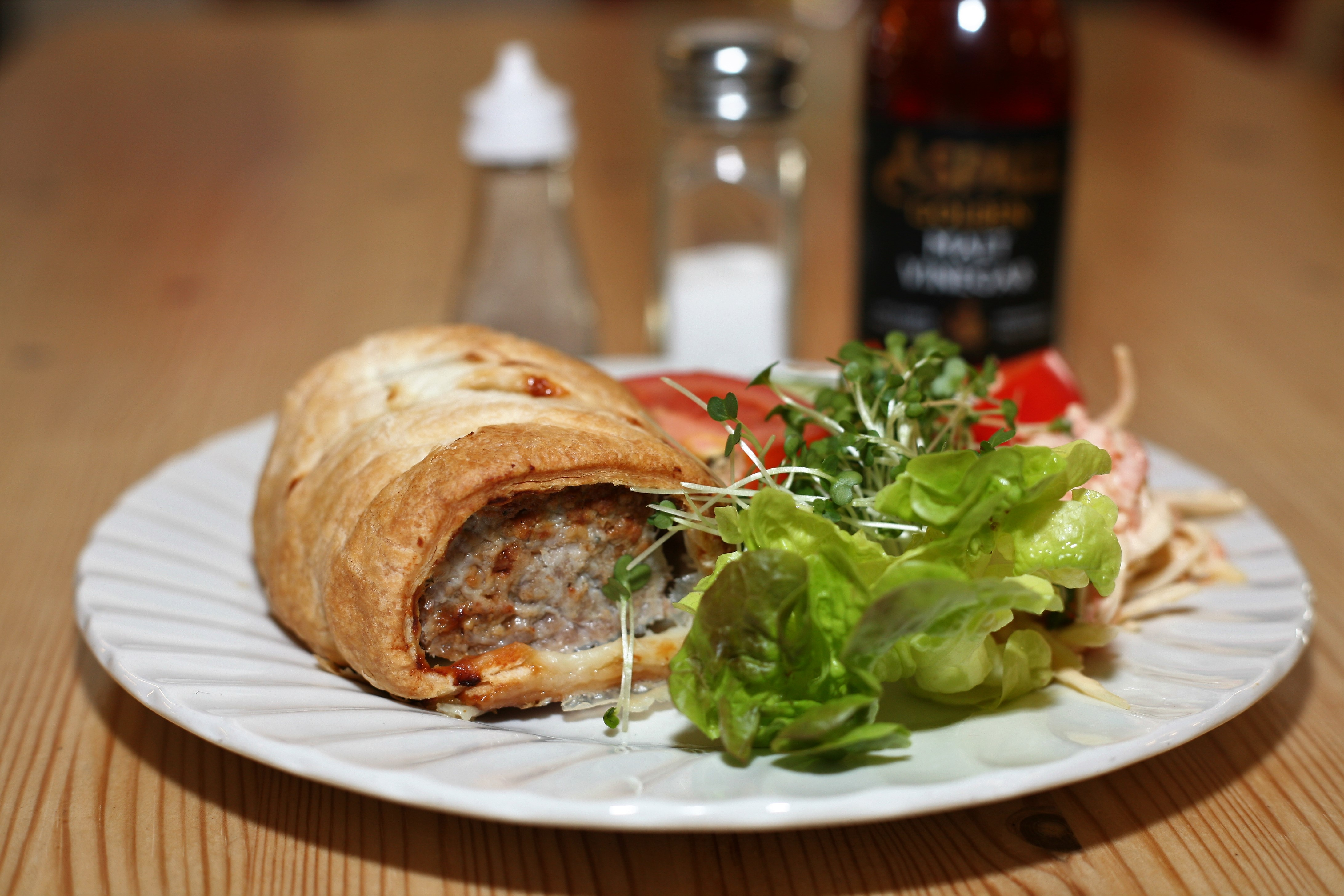 Very large sausage roll, a favourite