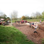 Children can enjoy the great adventure play area