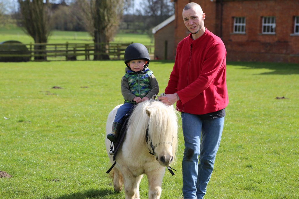 Children pony ride