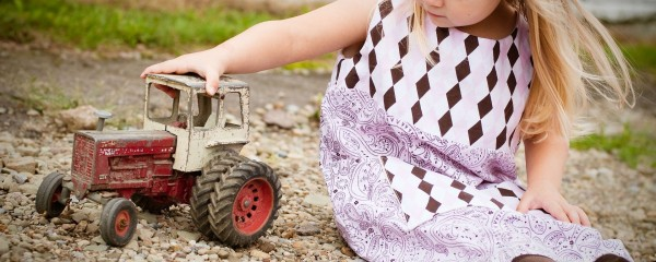 It's Tractor day at Easton Farm Park