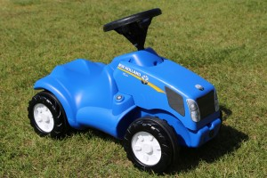 New Holland children's tractor at Easton Farm Park