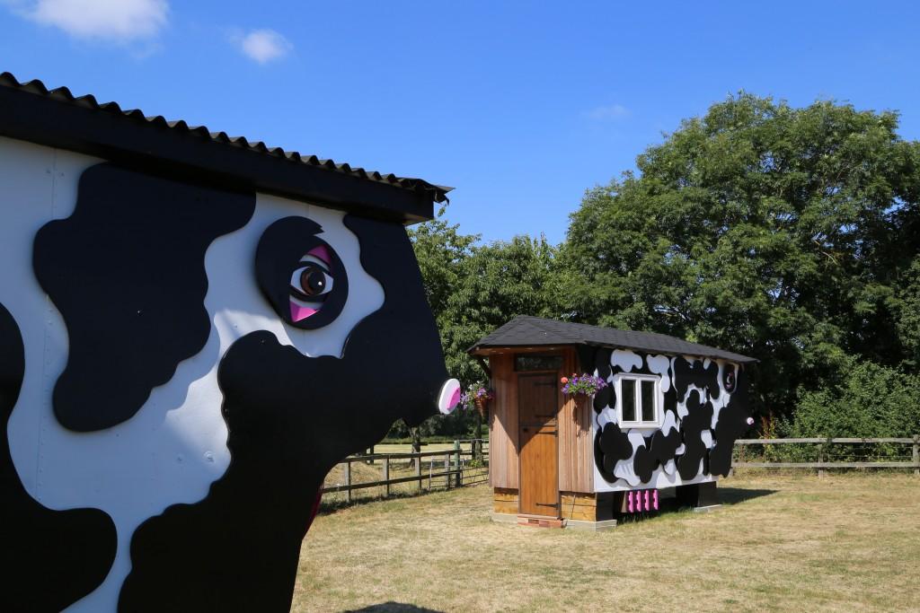 Unique accommodation on the farm park