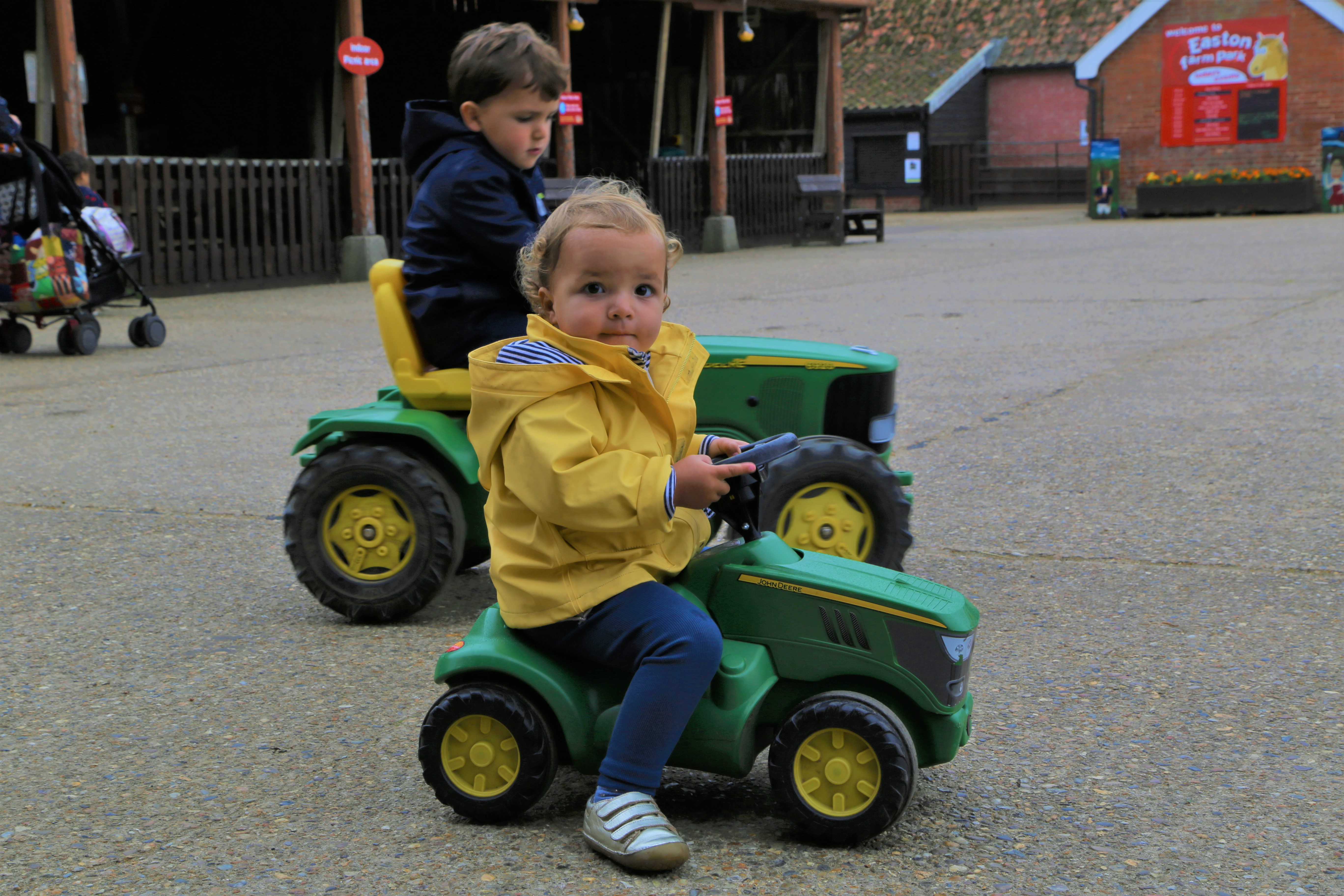 discovering amazing things - easton farm park